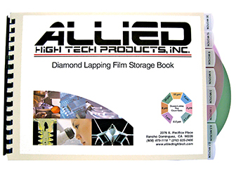 Diamond Lapping Film Storage