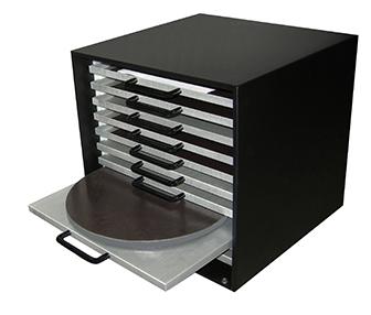 Platen Storage Cabinet